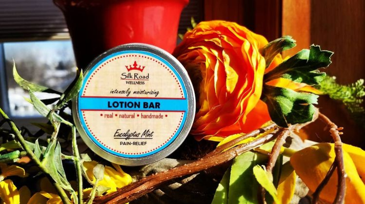 Dry winter skin? Try our intensely moisturizing Eucalyptus Mint lotion bar