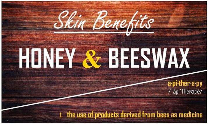 Skin Benefits: Honey & Beeswax